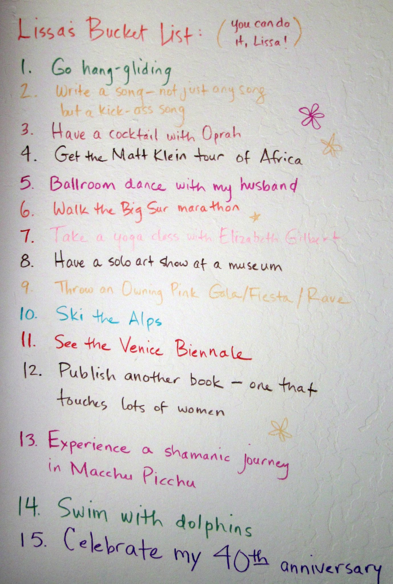the bucket list 2 essay What's on your bucket list adventure travel, volunteerism, crazy fun, connecting  with nature 1000+ awesome ideas of things to do before you.
