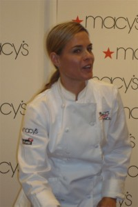 An Afternoon With Cat Cora .. Well Almost