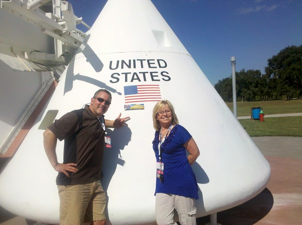 Behind the Scenes ~ NASA TweetUp