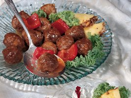 Sweet & Sour Meatballs – the @writerchick47 Betty Crocker adaptation