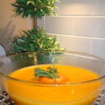 Gingered Carrot Orange Soup ~ Quick & Effortless
