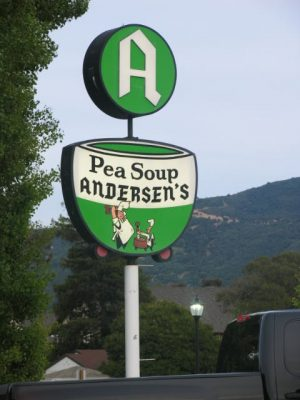 Anderson's Famous Pea Soup ~ Good Ole Kitschy Road Trip Fun