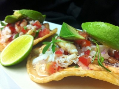 Celebrate Cinco de Mayo with Crab Tostadas and Chipotle Remoulade #Recipe