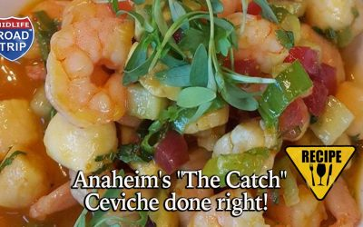 "Anaheim's ""The Catch""  Ceviche done right!"