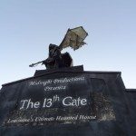 Behind the scenes at the 13th Gate, a scary good time!