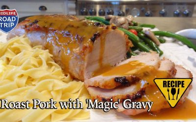 Roast Pork with 'Magic' Gravy