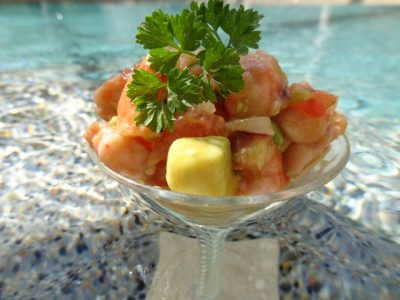 "Anaheim's ""The Catch""  Ceviche done right!  #Recipe"