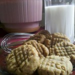 Guilt free peanut butter cookies #Recipe