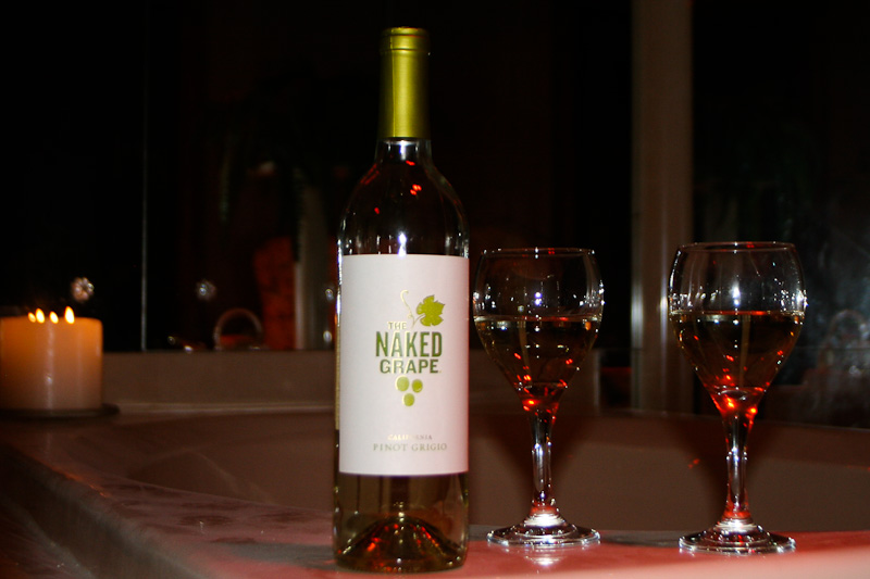 It's a Great Time to Get Naked!  #wine