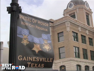 Most Patriotic Small Town in America: Gainesville, Texas #BestoftheRoad