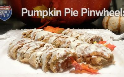 Trick or Treat: Pumpkin Pie Pinwheels Recipe
