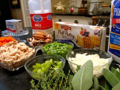 Turkey ala King ingredients