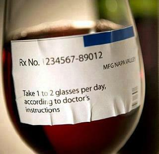 Just what the Doctor Odered… Rx Wine