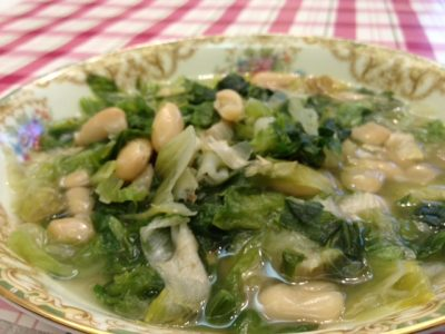 beans and escarole