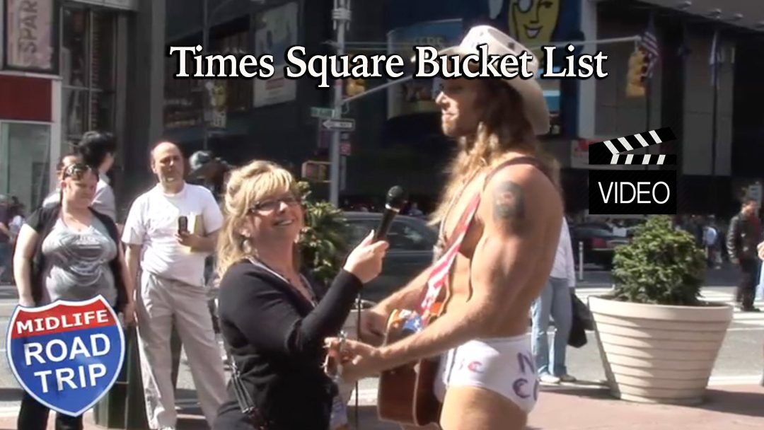 Times Square Bucket List