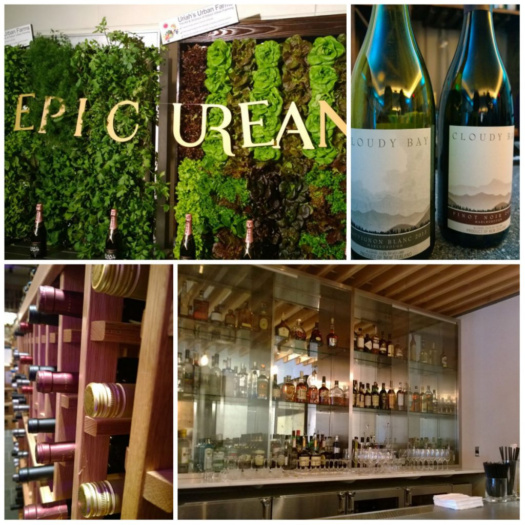 epicurean wine collage