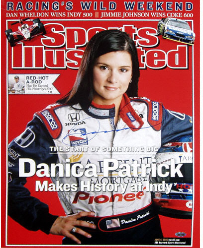 Celebrity interview with Danica Patrick