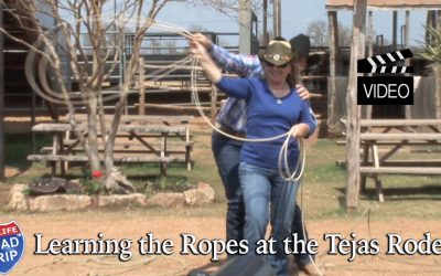 Learning the Ropes at Tejas Rodeo School