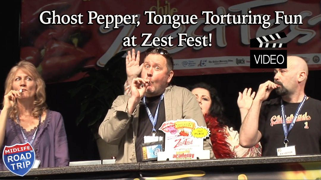 Ghost Pepper, Tongue Torturing Fun at Zest Fest!