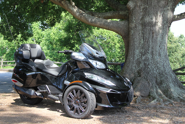 Have Spyder, Will Travel #CanAmSpyder