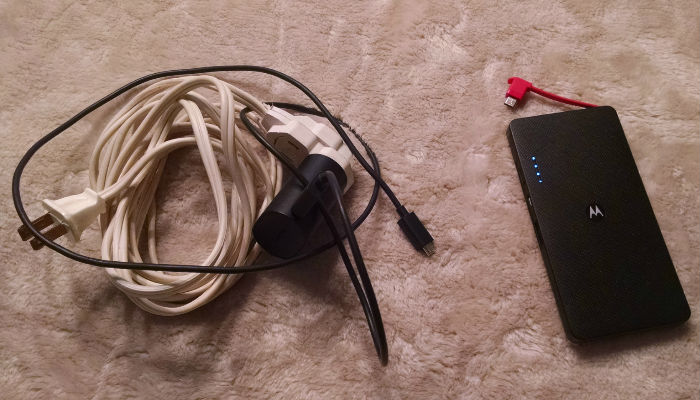 Extension Cord and  Power pack