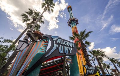 Falcon's Fury: North America's tallest freestanding drop tower