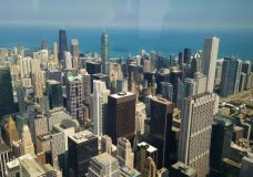 Going to the top of Sears Tower