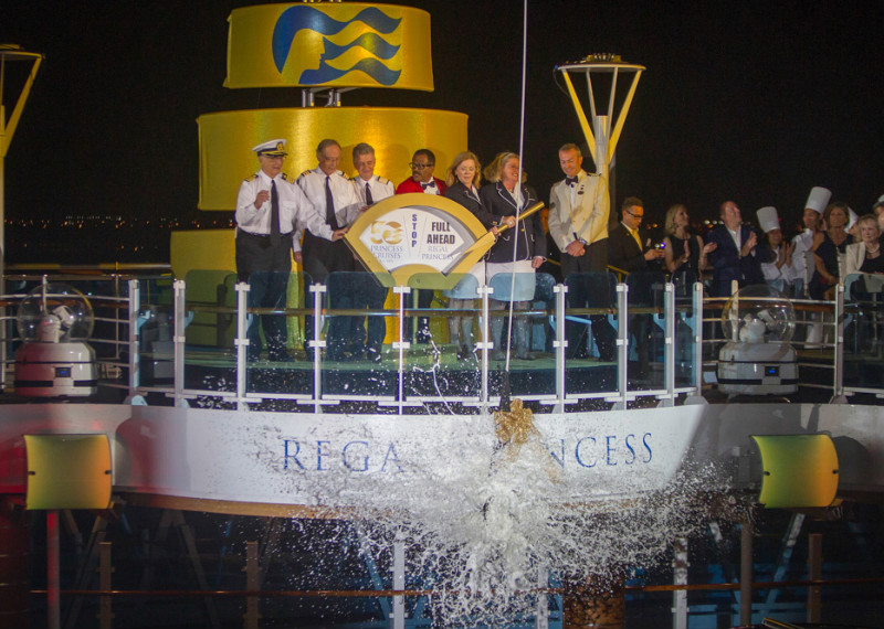 Nostalgia Reins at the Regal Princess Naming Ceremony #RegalPrincess