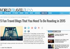 Midlife Road Trip Among Top 5 Fun Travel Blogs!