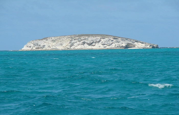 View from Gibbs Cay