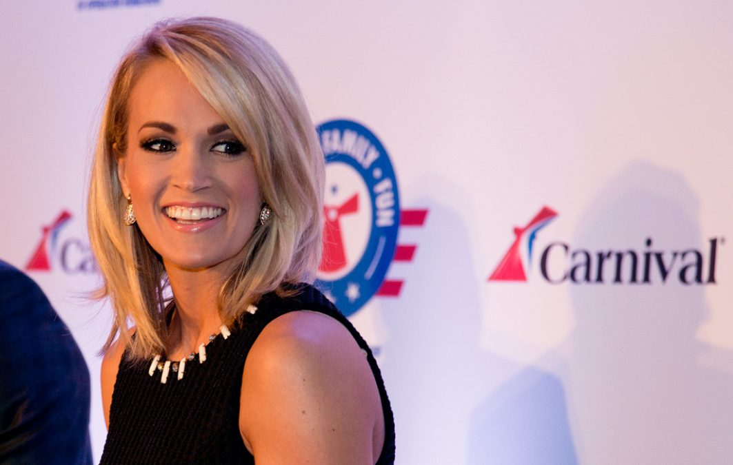 Carnival Cruise Line partners with Carrie Underwood
