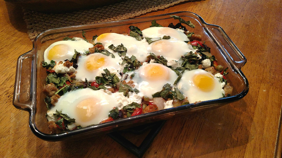Travel Inspired #Recipe Eggs Gargano