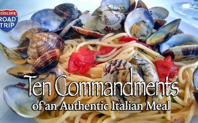 Ten Commandments of an Authentic Italian Meal