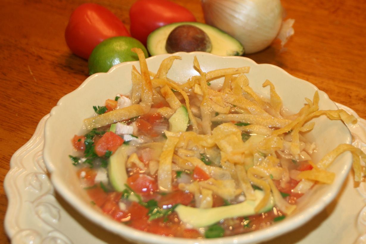 The Ultimate Chicken Tortilla Soup Recipe #SandersonFarms