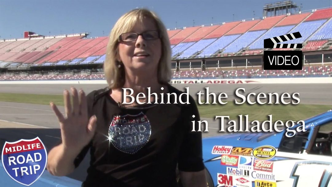 Behind the Scenes in Talladega  #NASCAR