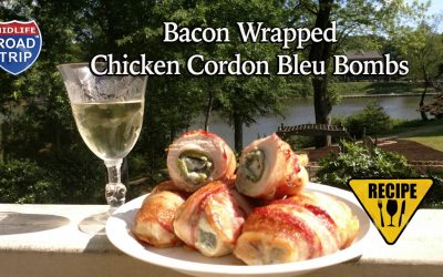 Recipe: Bacon Wrapped Chicken Cordon Bleu Bombs