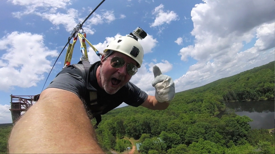 The Longest Zip Line Canopy Tour in the World!