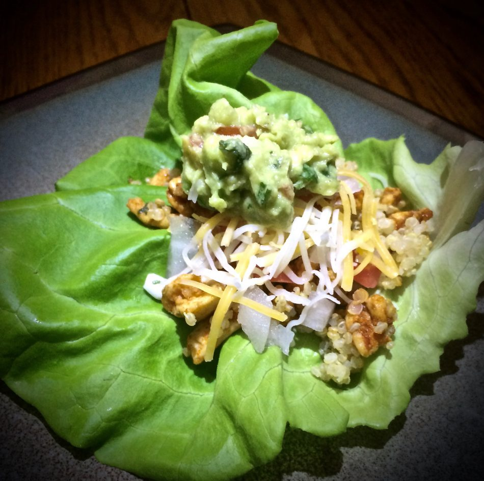 Back to school Hot Logic healthy Turkey Lettuce Wrap