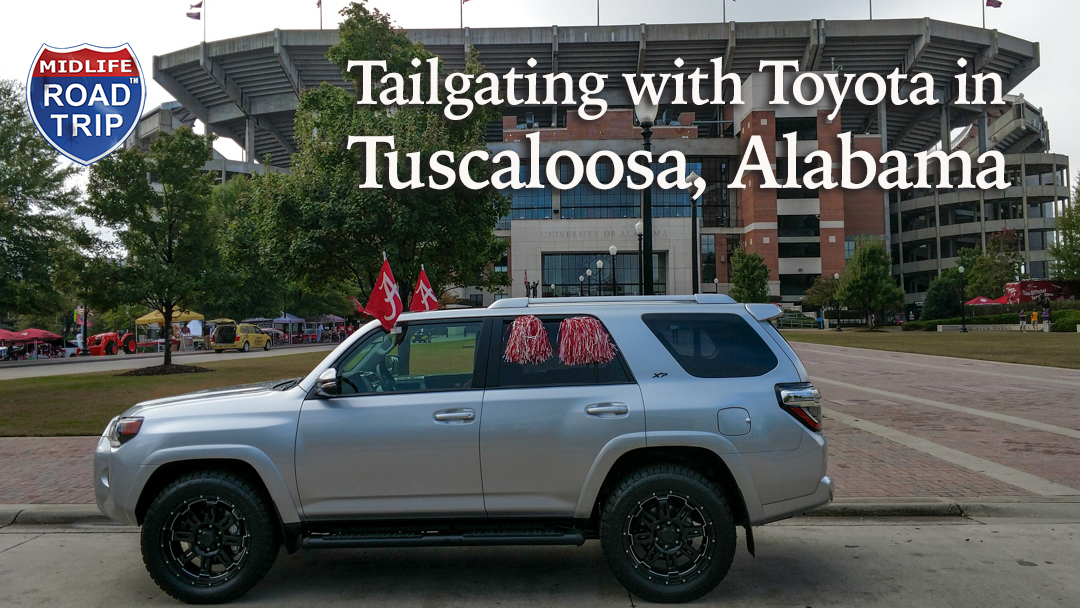 Tailgating with Toyota in Tuscaloosa Alabama