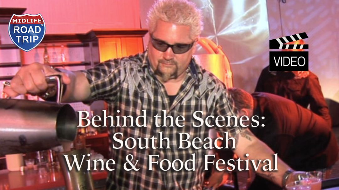 Behind the Scenes ~ South Beach Wine & Food Festival #sobewff