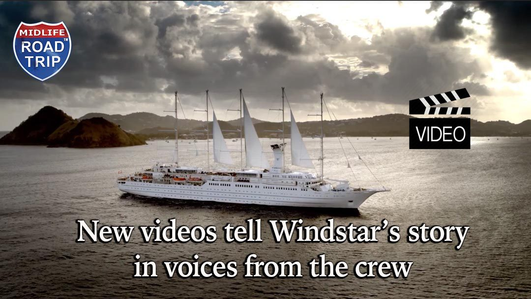 New videos tell Windstar's story in voices from the crew